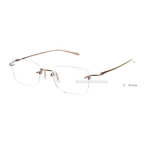 3ca501cdfd1 Kazuo Kawasaki 718 Eyeglasses. Color  Shiny Graphite (36)  Color  Brushed  12K Gold (38)  Color  Brushed Black Silver (37)  Color  Bronze (3) ...