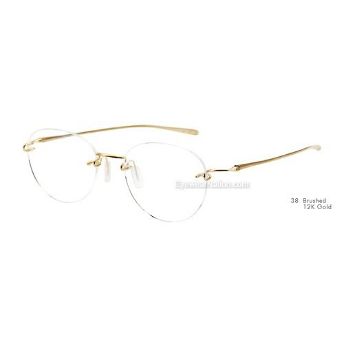 9172f915424 Kazuo Kawasaki 718 Eyeglasses. Color  Shiny Graphite (36)  Color  Brushed  12K Gold (38) ...