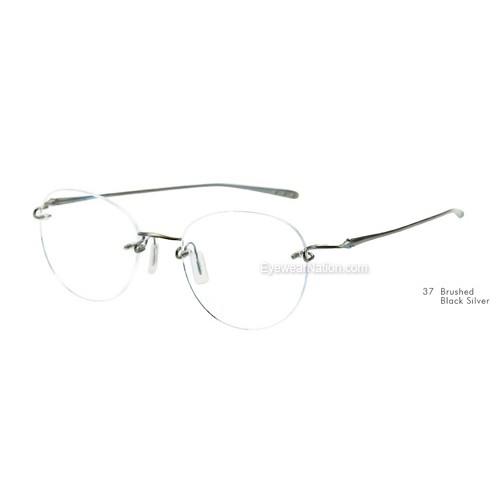 ee12bd249b4 Kazuo Kawasaki 718 Eyeglasses. Color  Shiny Graphite (36)  Color  Brushed  12K Gold (38)  Color  Brushed Black Silver (37) ...