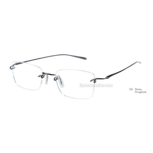 76e9aa3c6a3 Kazuo Kawasaki 718 Eyeglasses. Color  Shiny Graphite (36) ...