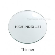 High-Index 1.67 Single Vision Lenses