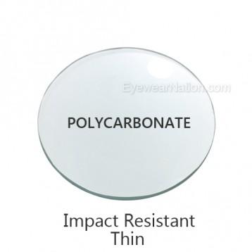 Polycarbonate Progressive Lenses (No Line Bifocals)