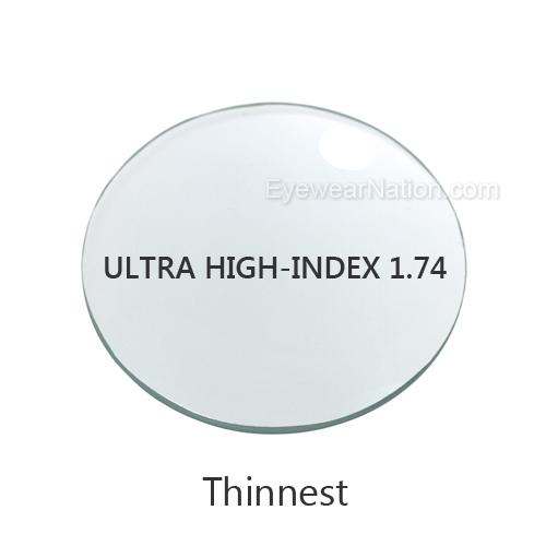 2874082cb757c Ultra High-Index 1.74 Progressive Lenses (No Line Bifocals)