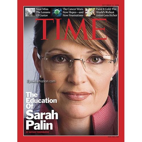 e9b26354a40c Sarah Palin Glasses - Kazuo Kawasaki 704 Frames
